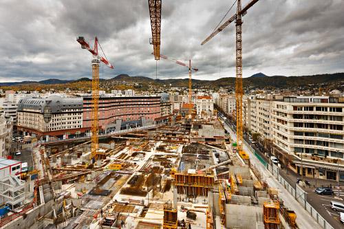 Arnaud frich photographe de suivi de chantier et for Grand garage d auvergne clermont ferrand